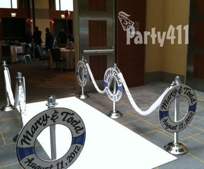 cruise party centerpieces | ... Theme Party: A Rehearsal Dinner for Marcy & Todd - Daily Party Dish
