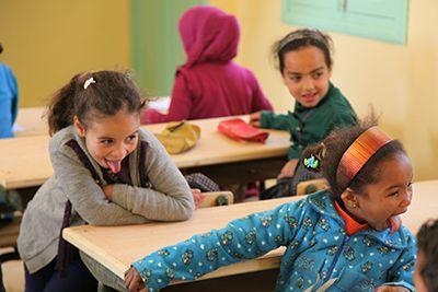 """""""Fais moi une grimace"""" - Ecole d'Haroune - Item Category Parrainer - Enfants Du Désert"""