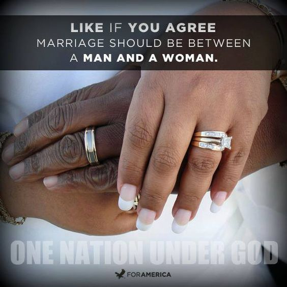 marriage between a man and a Ruling 5-4, the supreme court today struck down a federal law that recognized lawful marriages as only between between a man and a woman in a separate case, the justices cleared the way for.