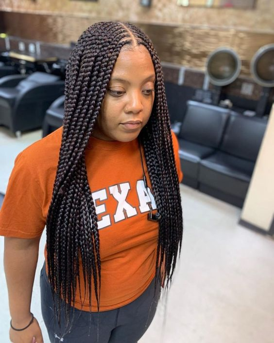 2019 Trendy and Beautiful African Braids