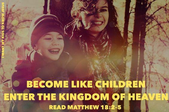Matthew 18:2–5