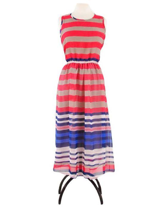 Savannah Stripes Dress