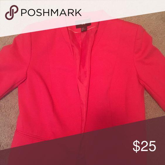 Blazer Hot Pink H&m blazer , only worn once. Blazer is in excellent condition. Jackets & Coats Blazers