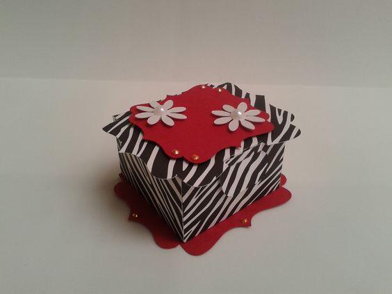 Caixa Elegante Zebra