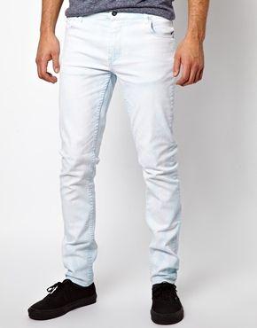 Cheap Monday Tight Jeans in Drift Bleach