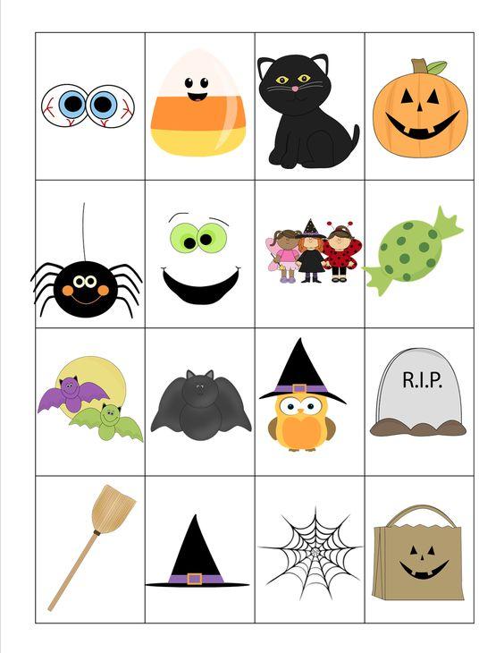 Recipes from Stephanie: Halloween Bingo