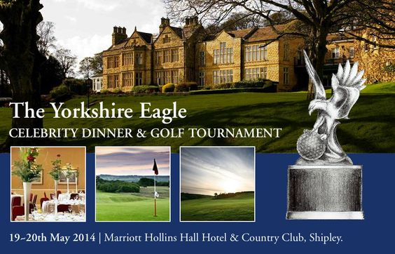 We're looking forward to the inaugural #Yorkshire Eagle Celebrity Event that begins tonight! The two-day event includes a Celebrity Dinner & Fund Raising Auction before a Celebrity Golf Tournament gets underway tomorrow at Hollins Hall Hotel & Country Club. All in aid of The Lord's Taverners and #Guiseley AFC Youth Development with many prizes to be won - not to mention a #BMW for a hole in one!