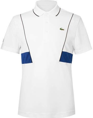Novak Djokovic Pique Tennis Polo Shirt Polo Shirt Tennis Shorts Pique