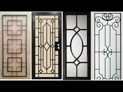 Wrought Iron Popular Window Grill Design Catalogue 2018 1