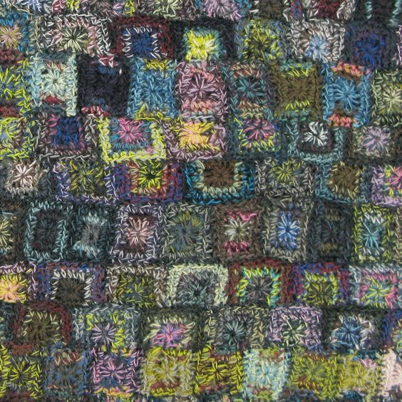 Moody Mosaic - Sophie Digard crochet: