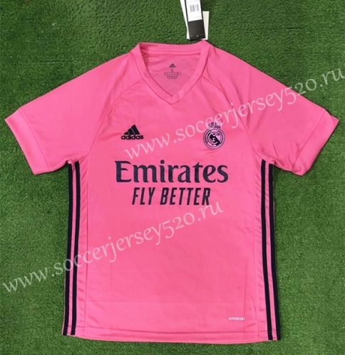 2020 2021 Real Madrid Away Pink Thailand Soccer Jersey Aaa 403 In 2020 Real Madrid Football Soccer Jersey Madrid Football Club