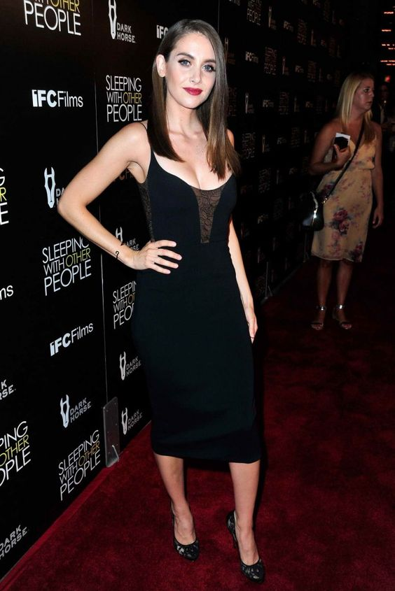 Alison Brie Sleeping With Other People premiere in Hollywood 9/09/2015-1