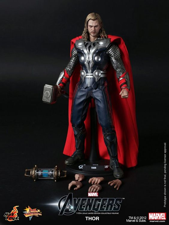 A real Thor toy.
