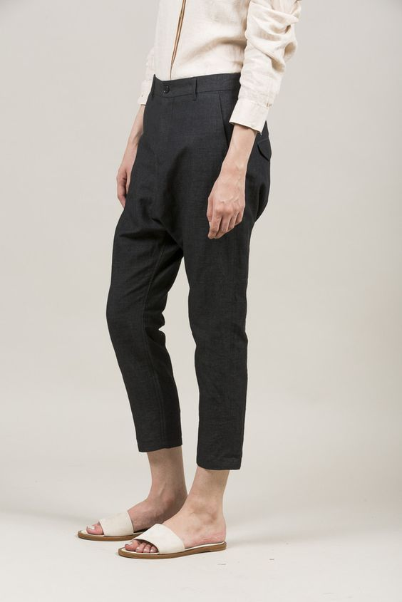 Was Trouser, Grey by Hope #kickpleat #hope