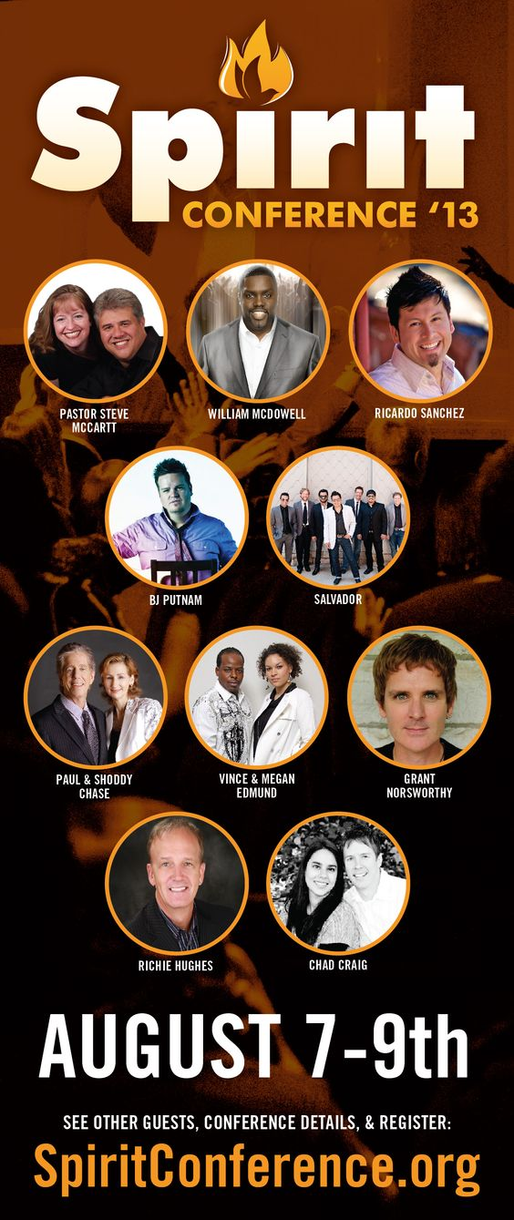 Check out this guest list for #SpiritConf 2013! http://spiritconference.com