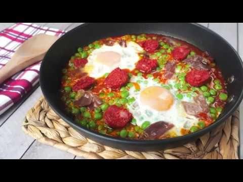 Huevos A La Flamenca Recetas Y Postres Y Hoy Que Comemos Comida Recetas De Comida Huevos Al Plato