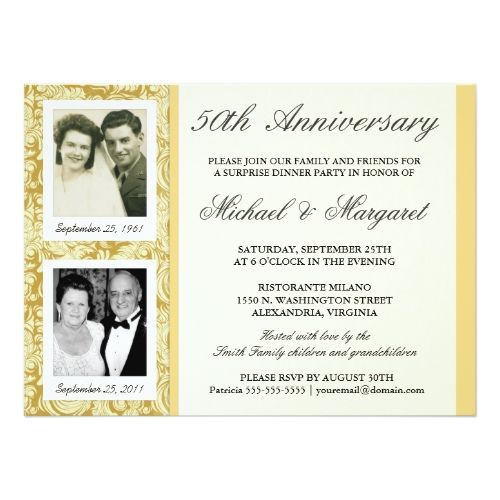 17 Best images about 50th Anniversary Invitations | Photos ...