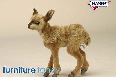 Hansa Handcrafted Plush Toys BUSKBACK KID 4935 New