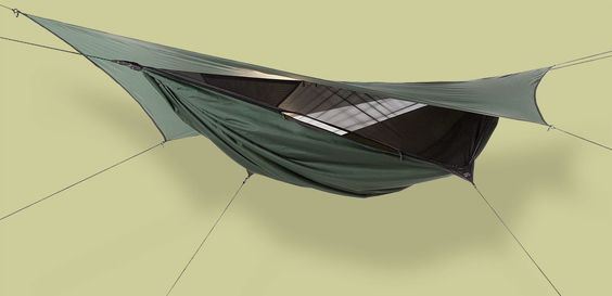 Hennessy Expedition Asym Zip Hammock - 2 Free Snakeskins included