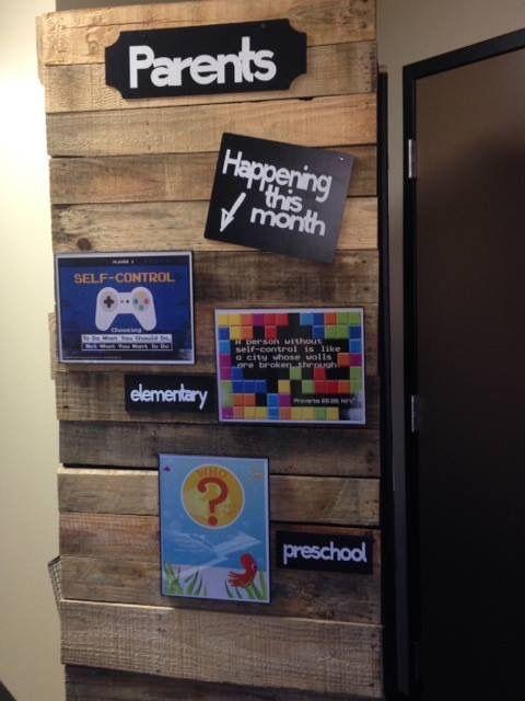 Parents resource board
