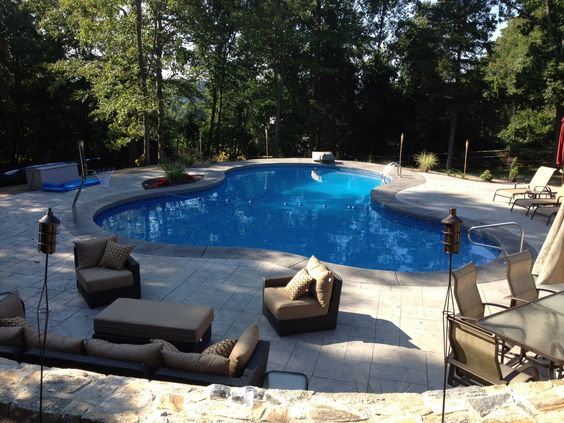 Lagoon Shape Legacy Edition Vinyl Lined In Ground Pool Legacyedition A1pools A1poolsct