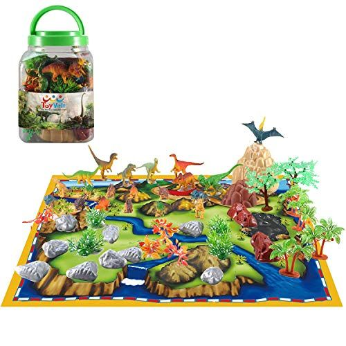 50 Piece Dinosaur Play Set Ultimate Educational Toy Of 2 Https Www Amazon Com Dp B078t15s7s Ref Cm Sw R Pi Dinosaur Play Dinosaur Gifts Kids Imagination