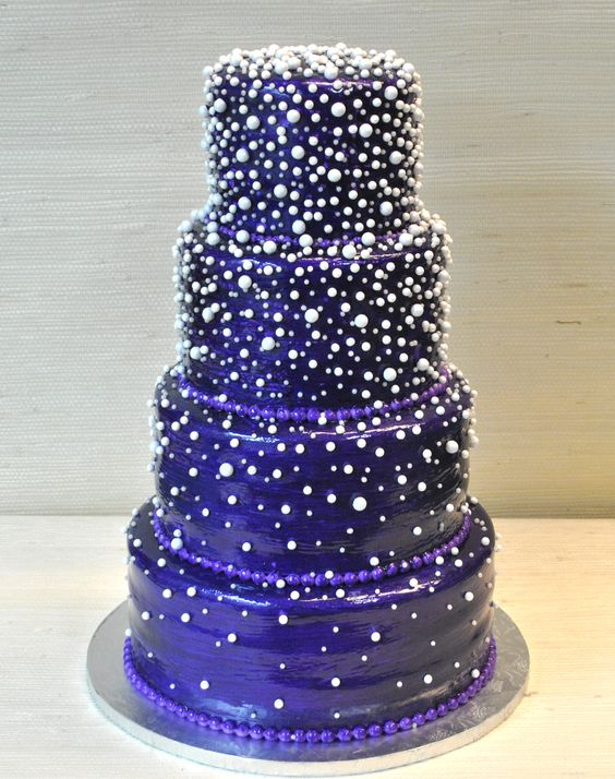 Image result for cake cascading pearls