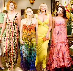 I loved maxi dresses way before this. Seriously. Ask my closet.