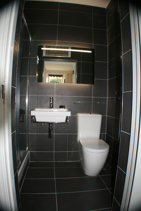 L Shaped Small Bathroom Layout: L Shaped Layout Stunning Ensuite Shower Room, Designed And