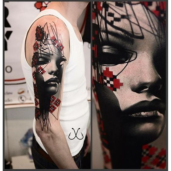 Timur Lysenko - a talented tattoo artist was born in Ukraine. Currently lives and works in Wroclaw (Poland).