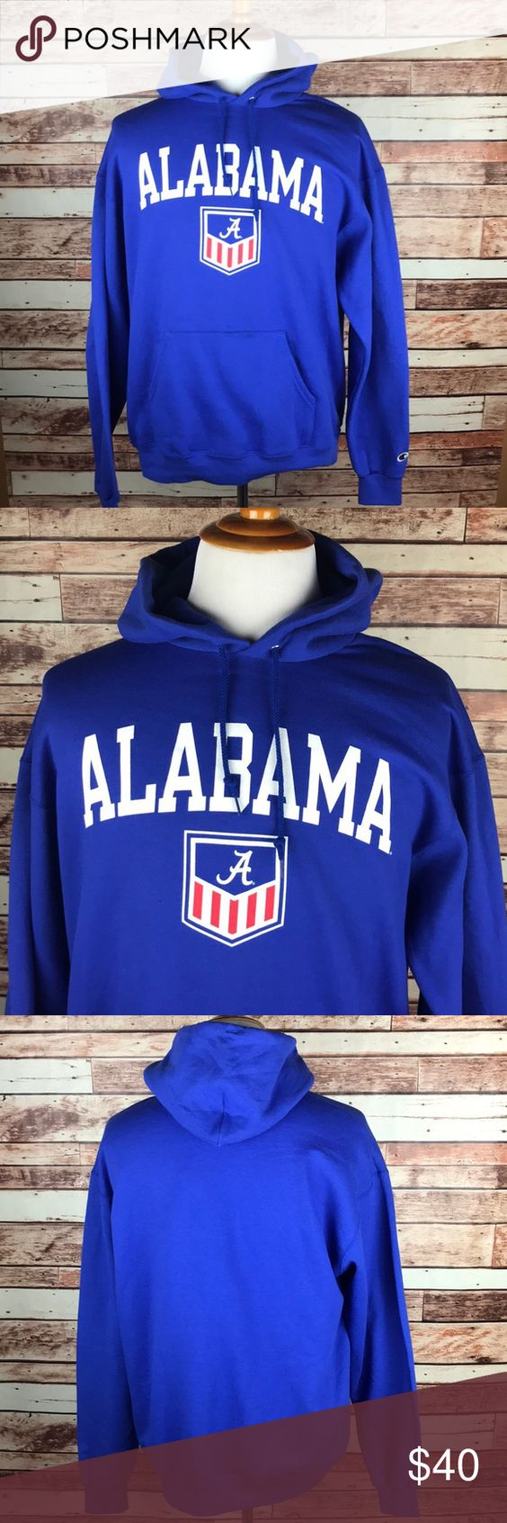 Alabama Crimson Tide Blue Hoodie Sweatshirt Large Sweatshirts Blue Hoodie Sweatshirts Hoodie [ 1692 x 564 Pixel ]