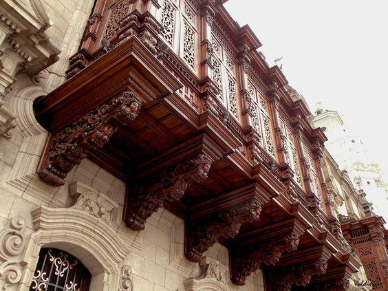 Balcones - Centro Histórico de Lima