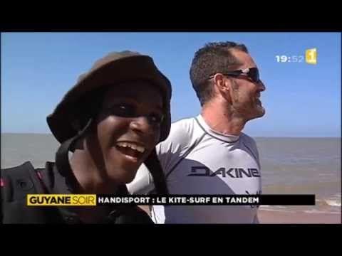Handisport, le kite surf en tandem