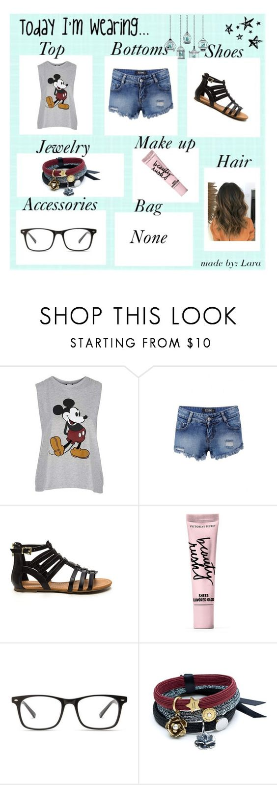 """""""Bored Need Inspir."""" by mizzepic403 ❤ liked on Polyvore featuring Topshop and Beauty Rush"""