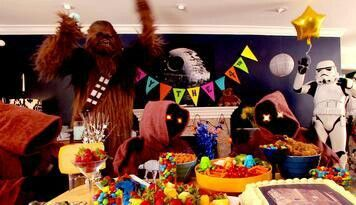 Star wars party. Utini.