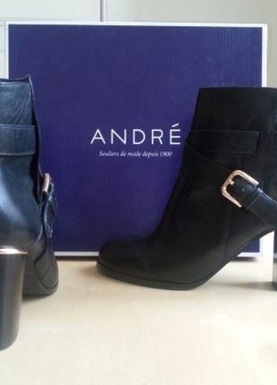 À vendre sur #vintedfrance ! http://www.vinted.fr/chaussures-femmes/bottes-and-bottines/25076481-bottines-noir-a-talons