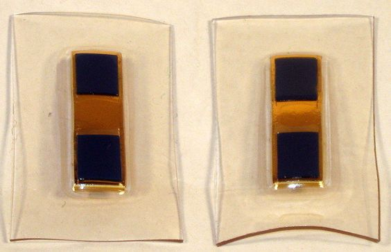 US Navy Naval USN Warrant Officer One WO-1 W-1 Rank Insignia for Flight Suite
