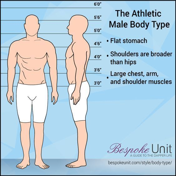 Men's Body Shape Guide (Fat, Skinny, Muscular) Dress Your