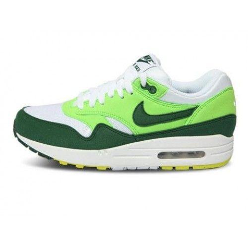 Oceanía Walter Cunningham Simetría  Comprar Nike Air Max 1 Blanco Verde Hombre Zapatos UK Venta| Tienda de  zapatos Nike baratos - maxcorriendo.co… | Nike air max 87, Nike air max  baratos, Nike air max