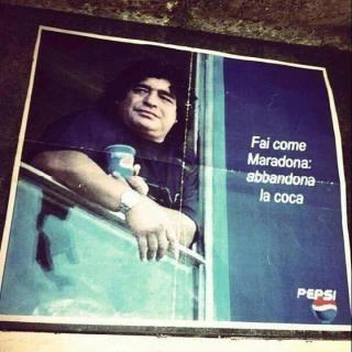 Fai come Maradona: abbandona la coca