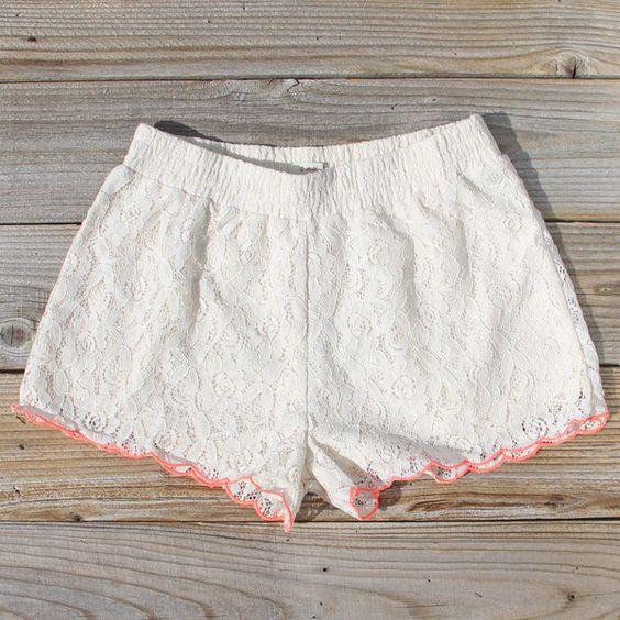 Mountain Laurel Lace Shorts