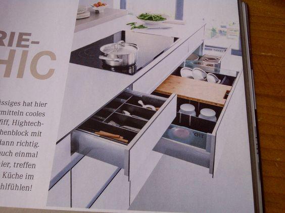 Keuken Lade Organizer : Keukenlade met vakverdeling.