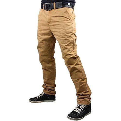 Code47 Herren Chino Jogg Jogger Jeans Slim Fit Cargo Stretch W29-W38