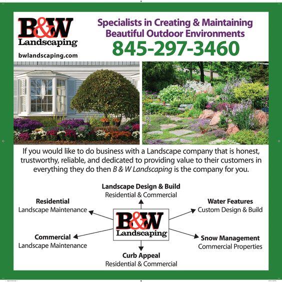 Landscaping Company Advertisement Design   Advertisements ...