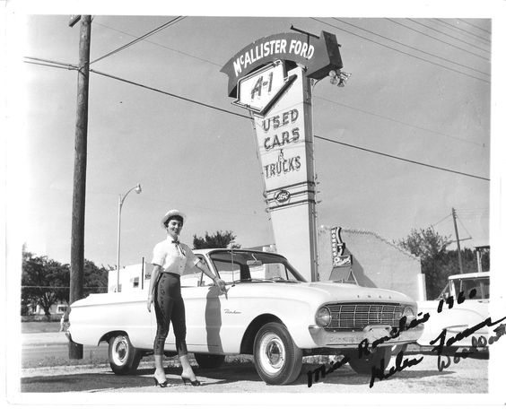 Terre Haute Car Dealerships >> Miss Ford Ranchero 1960 | Vintage car dealers | Pinterest ...