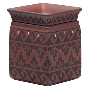 Pueblo Full-Size Scentsy Warmer PREMIUM    Inspired by ancient canyon dwellings, Pueblo's Southwestern design is set on a sun-baked terra cotta background.