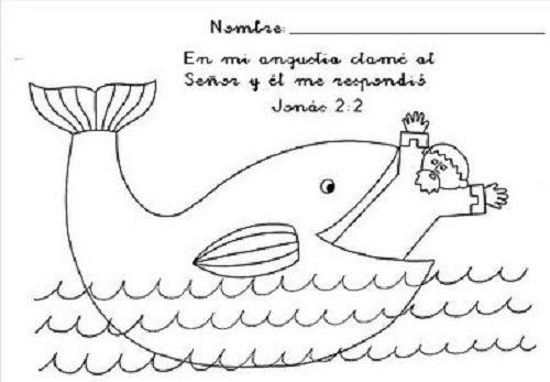 Pin De Hildes En Educacion Cristiana Jonas Y La Ballena Temas