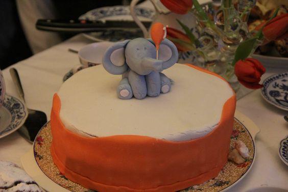 Elefanten Kuchen - elefant cake