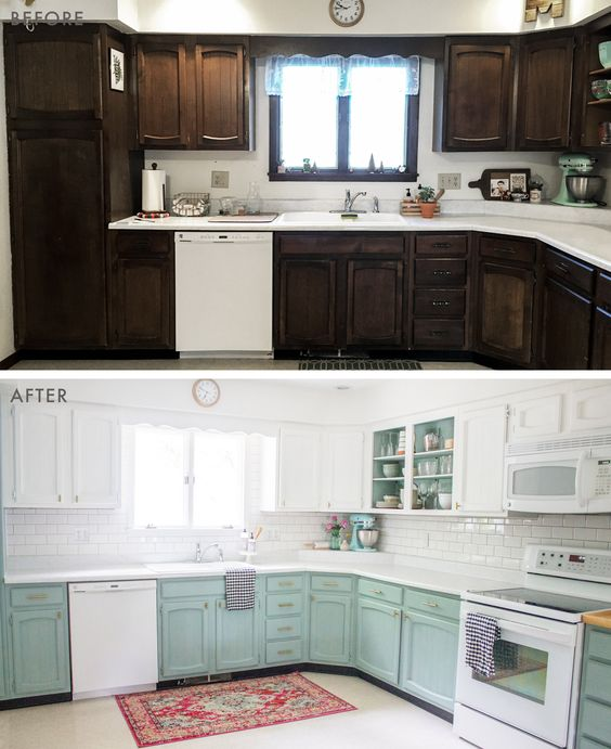 Emily Henderson - kitchen before and afters - #home #style #interiors
