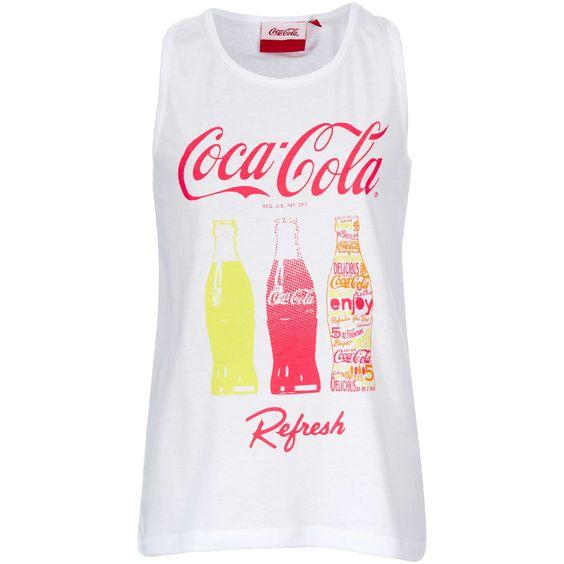 Débardeur 'Coca Cola' Fille adolescente - Kiabi - 9,99€